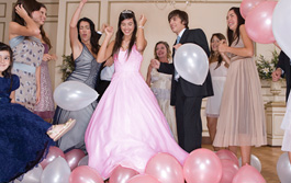 B'nai Mitzvah, Quinceañeras, and More...